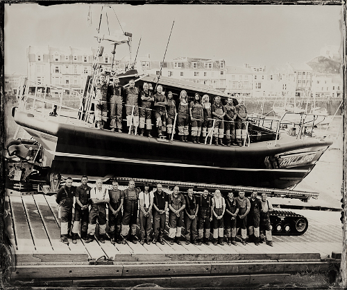 Black and White Lifeboat Photo by Jack Lowe