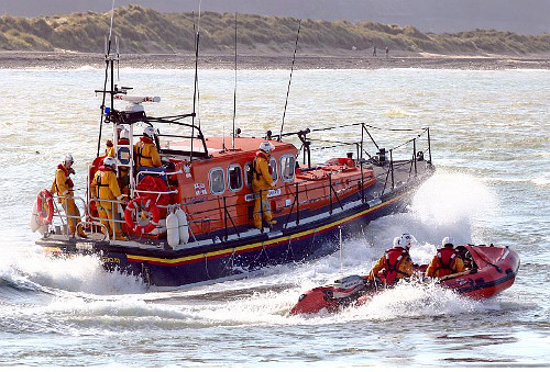 Moira Barrie and Clive Tanner Lifeboats