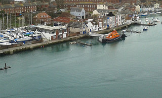 Weymouth Harbour RNLI Pontoon